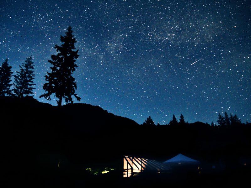 Stjärnklart en sommarnatt