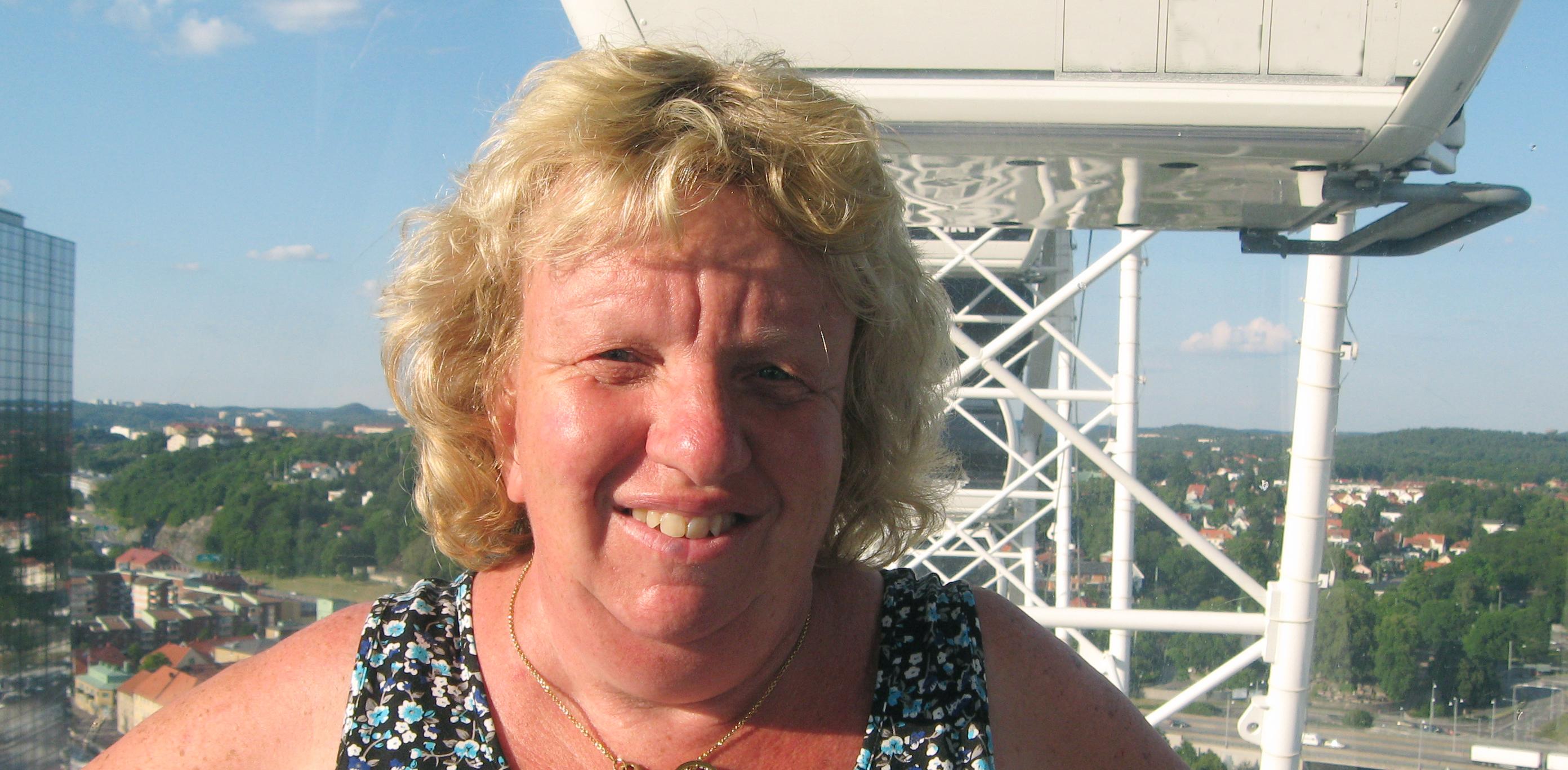 Vår bokförare Susanne